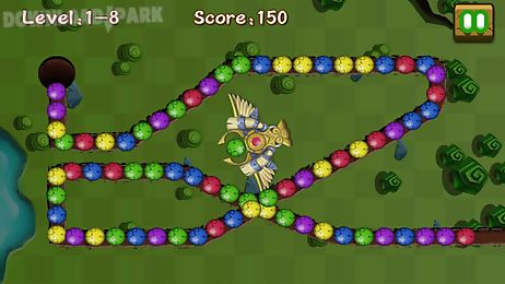 Jungle marble blast Android Game free download in Apk
