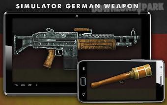 Simulator german weapon