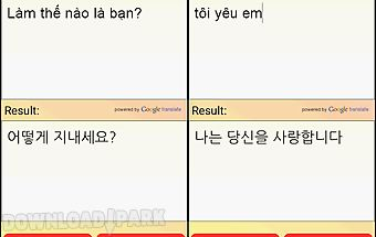 Vietnamese korean translator