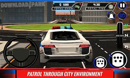 city police car driver sim 3d