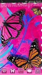 go launcher theme butterflies
