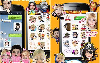 Stickerme free selfie emoji