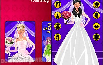 Wedding dress up game