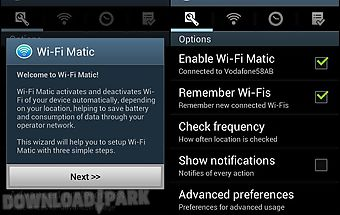 Wi-fi matic - auto wifi on off