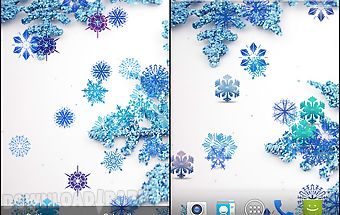 Beautiful snowflakes lwp