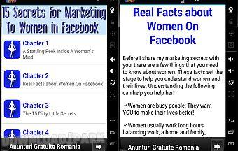 15 secrets about women in facebo..