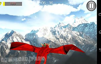Fly dragon 3d