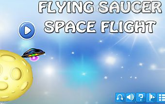 Flying saucer space flight