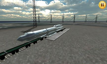 Rocket simulator 3d Android Game free download in Apk