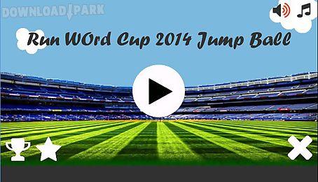run world cup 2014 jump ball