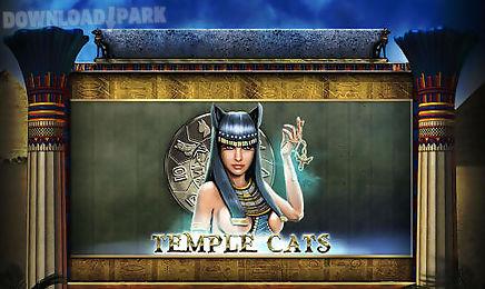 temple cats: slot