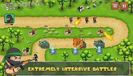 tower defense: isis war