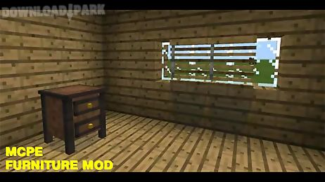 furniture mod for mcpe