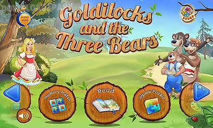 goldilocks & three bears book