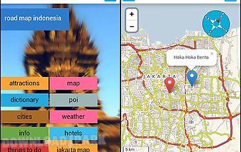 Indonesia offline map &weather