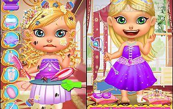 Royal coronation makeup salon
