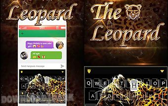 The leopard kika keyboard