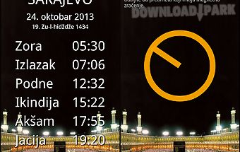Vaktija prayer times