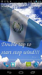 3d guatemala flag lwp
