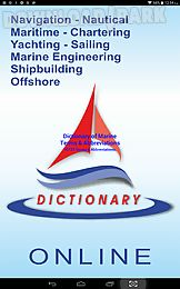 dictionary of marine terms