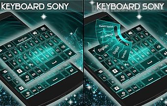 Keyboard for sony xperia p