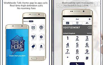 Talk home app