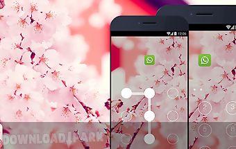 Applock theme - sakura theme