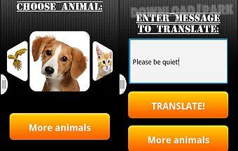 Dog translator (prank)