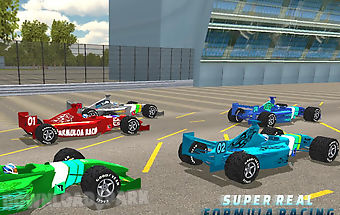 Fast formula car racing 3d