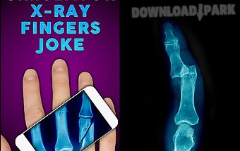Simulator x-ray fingers joke