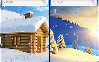 Snow live wallpaper free