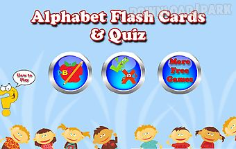 Abc flashcards for toddlers