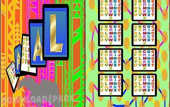 Abc kids memory game alphabet