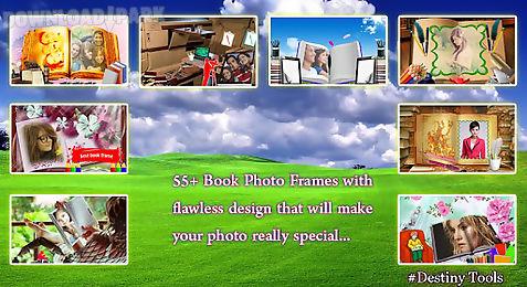 book photo frame