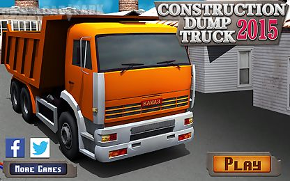 Construction dump truck 2015 Android Game free download in Apk