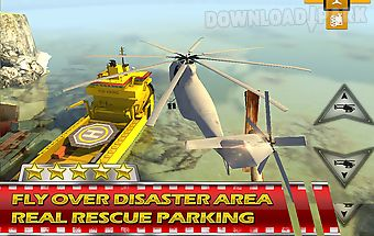 Helicopter 3d rescue parking