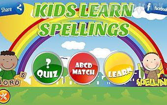 Kids learn spellings