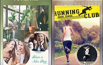 Poster collage photo editor
