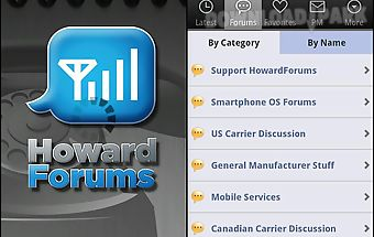 The howardforums app