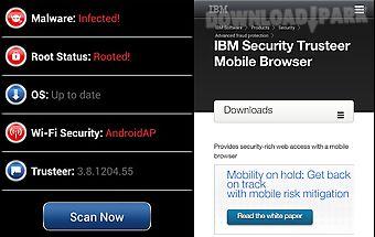 Trusteer mobile browser