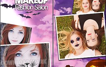 Halloween makeup fashion salon