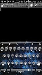 keyboard theme shield space
