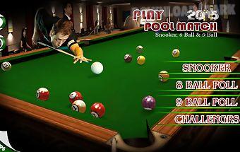Play pool match 2015