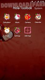 my valentine hola theme