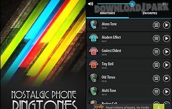 Nostalgic phone ringtones