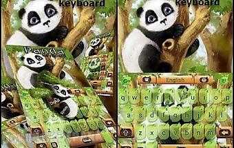 Panda go keyboard theme