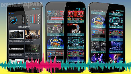 Resources for virtual dj Android App free download in Apk