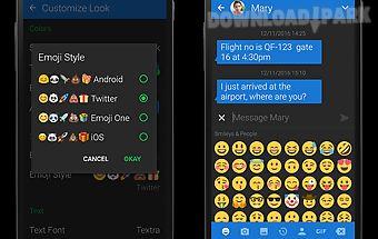 Textra emoji - twitter style