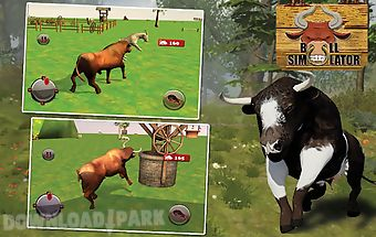 Bull simulator - crazy 3d game