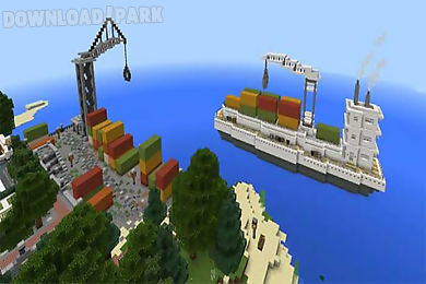 deep ocean city map for mcpe
